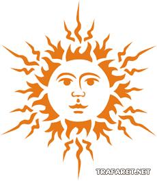 Большое солнце