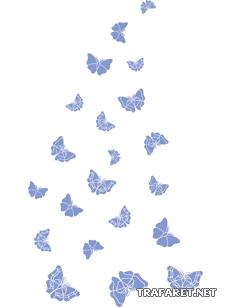 Стайка бабочек 2
