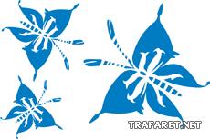 Три бабочки 1