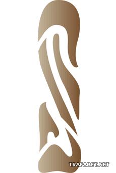 Абстрактный узор 22 (трафарет для покраски)