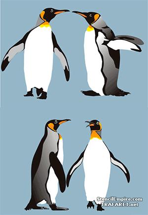 Четыре пингвина