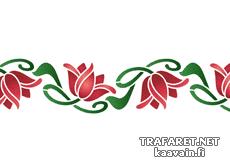 Бордюр Модерн 33 (трафарет для декора)
