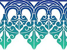 Ланселот (трафарет для декора)