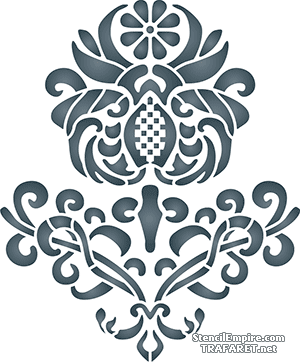 Британский цветок 80346