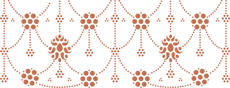 Персидский бордюр (трафарет для декора)