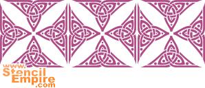 Мозаика (трафарет для стен)
