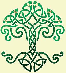 Древо Жизни (трафарет для декора)