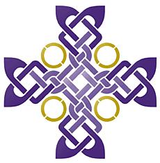 Крест Бригиты (трафарет для стен)