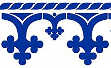 Готические арки (трафарет для росписи)