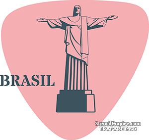 Трафарет Рио-де-Жанейро