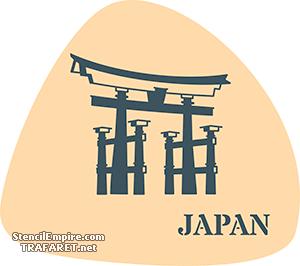 Трафарет Япония