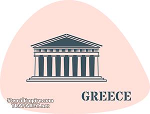 Трафарет Греция