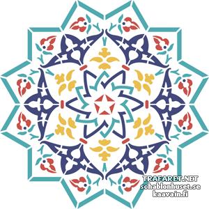 Трафарет Арабеска 106а