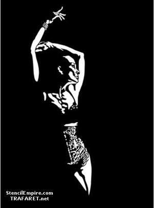 Танцовщица в баре