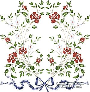Розы и ромашки 029г