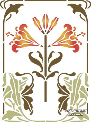Большие лилии (мотив)