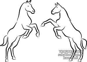 Две лошади 1а