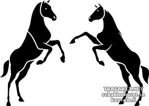 Две лошади 1б