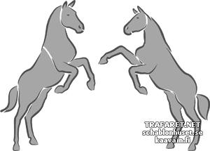 Две лошади 1в