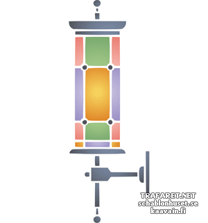 Уличный фонарь 05