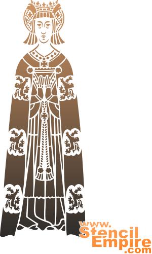 Священник (художественный трафарет)
