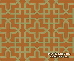 Трафарет обоев Марокканская решетка