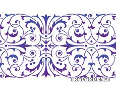 Классическая полоса 59 (трафарет для рисования)
