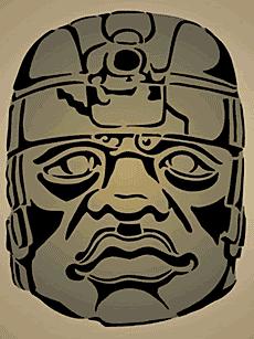 Голова 7 (трафарет для рисования)