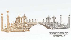 Трафарет Большой китайский мост