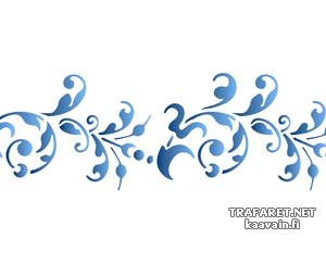 Бордюр ренессанс 50 (трафарет для декора)