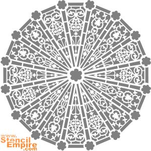 Йоркс-министер 06 (трафарет для декора)
