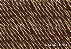 Шкура муравьеда (трафарет для покраски)