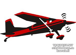 Трафарет самолета Сессна