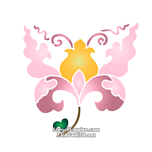 Китайский цветок 2