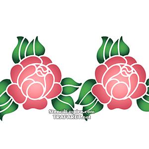 Примитивная роза 1В