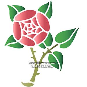 Ветки розы примитив А