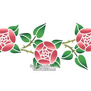 Ветки розы примитив В