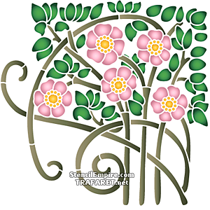 Цветущая роза Ар нуо