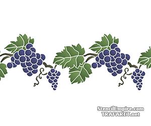 Виноградный бордюр 4а