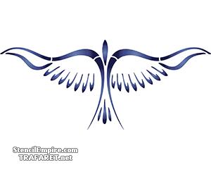 Абстрактная птица 02