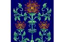 Шотландский чертополох (трафарет, малая картинка)