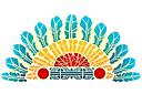 Индейский венок (трафарет, малая картинка)