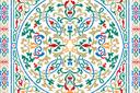 Ковер арабеска 2 (трафарет, малая картинка)