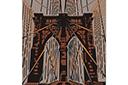 Трафарет Бруклинский мост
