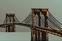 Трафарет Большой Бруклинский мост