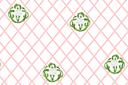 Трафарет обоев Ландыш на сетке