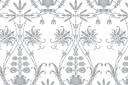 Трафарет обоев для стен Лилии классик 77г