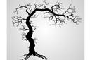 Дерево готов (трафарет, малая картинка)