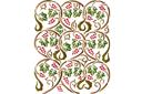 Виноградные круги (трафарет, малая картинка)