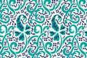 Персидские обои 1 (трафарет, малая картинка)